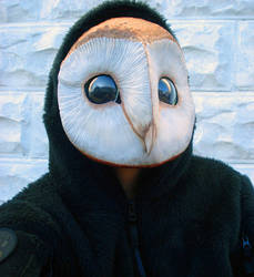 Owl mask version 2 by missmonster