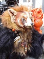 Maya the red panda by missmonster