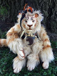 Apollyon tiger doll by missmonster