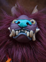 Squawp the lion monster doll by missmonster