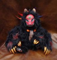 Kami the Fox Doll by missmonster