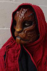 Dragoncat mask - deluxe by missmonster
