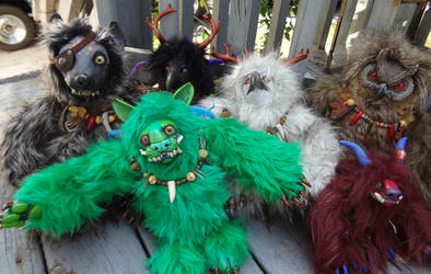 Dragoncon dolls by missmonster