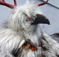 Snow the Raven doll by missmonster