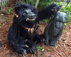 Kelos the Werewolf doll by missmonster
