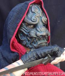 Komainu mask by missmonster