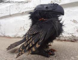 Innsmouth the Raven by missmonster