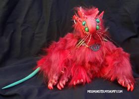 Pallas the Catmander by missmonster