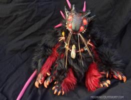 Henson the Catmander by missmonster