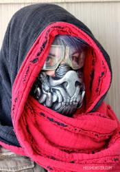 Bat Mutant mask DIY preorder by missmonster