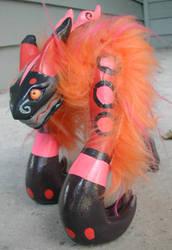 monster model kit pink two by missmonster
