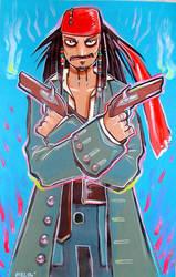 Jack Sparrow fanart by missmonster