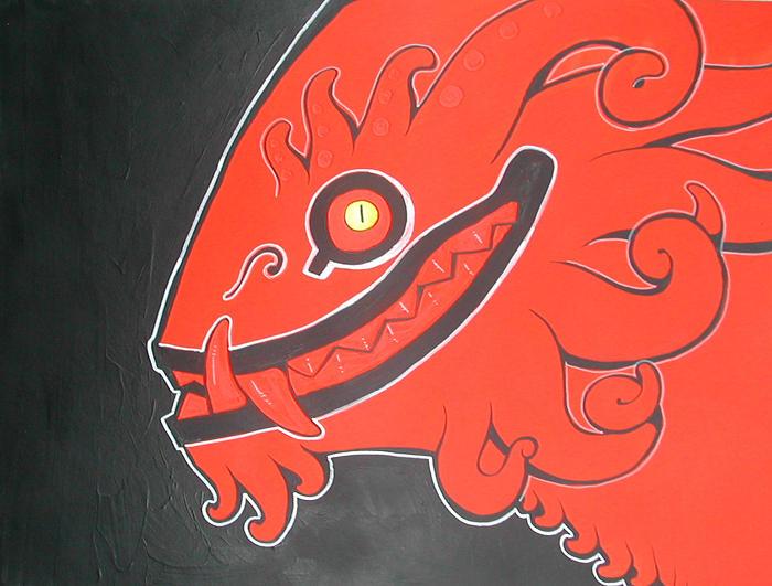 red head by missmonster