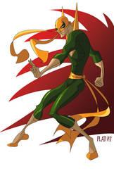 Iron Fist commission by NunoPlati