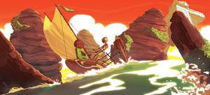 Mia sail, finish by NunoPlati