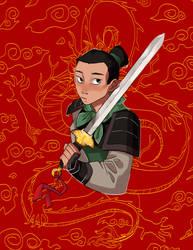 Mulan by ShadyPebblez