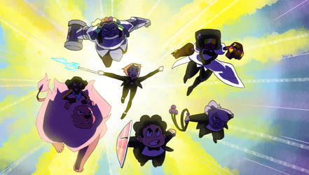 We are the Crystal Gems by ShadyPebblez