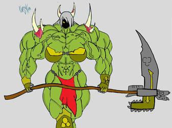 Salivaria colored ^^ by Warhammer40kOC