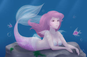 Angel Fish by Mermaid-Melly