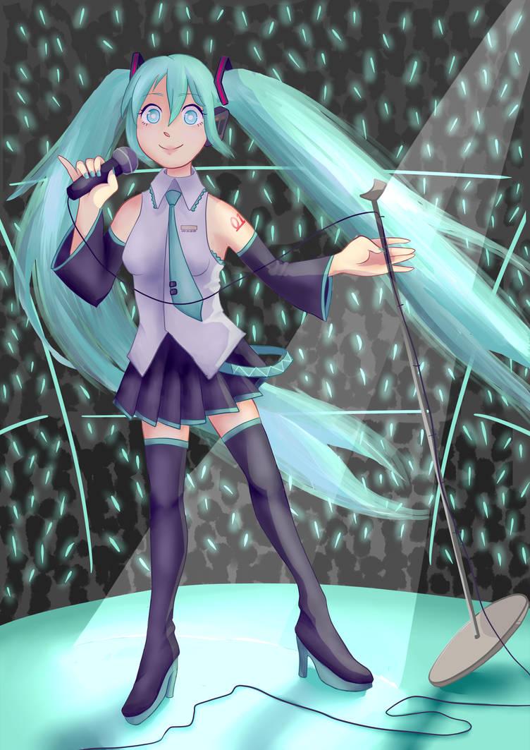 Hatsune Miku Poster Wwwtollebildcom