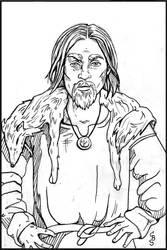 Icelandic Sagas Man by CBStetson