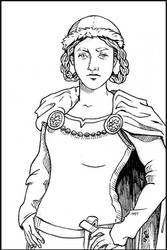 Icelandic Sagas Woman by CBStetson