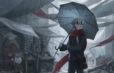 Raining Fair by Virzoeve