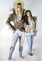 Jareth and Sarah by cormak
