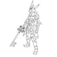 Armor of the Master DISSIDIA by alvaromero324