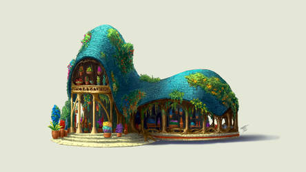 Flower House 1 by TypeProton