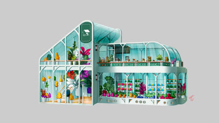 Flower House 4 by TypeProton