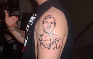 Jeffrey Dahmer Mugshot by splatterpunkk