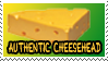 Authentic Cheesehead Stamp by Goku-san