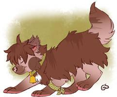 Sundaysushidog-sketch by Goku-san