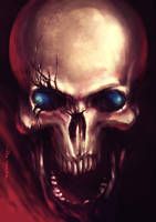 Derp Skull by n00brevolution