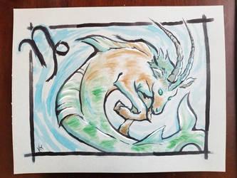 Capricorn by shewolf444
