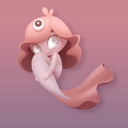 Pink Mermie by mayaAlapaap