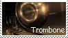 Trombone Stamp by AkiAmeko