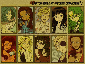 Can You Guess My Fav Chars? by AkiAmeko