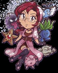 Pokemon Chibi Team by AkiAmeko