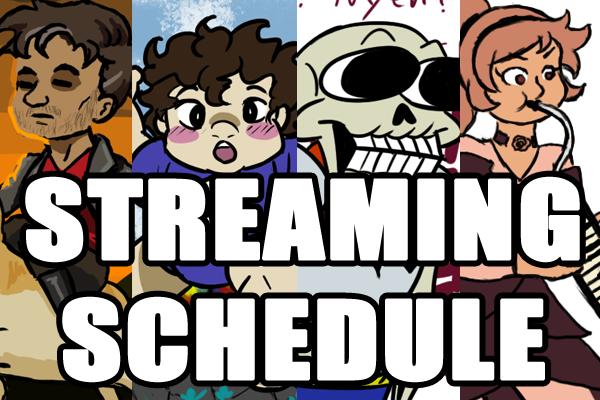 Streaming Schedule Image by AkiAmeko