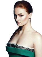 SOPHIE TURNER PNG by MADAW