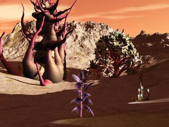 A desert Planet by VirginPrune