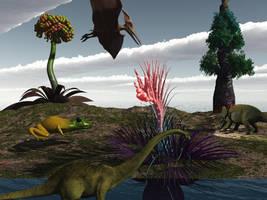 Jurassic by VirginPrune