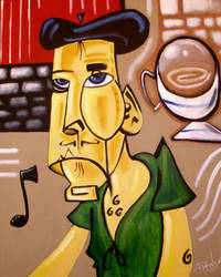' Coffee Shop Frenchman' by francisff