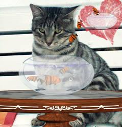 cat by eleyeley