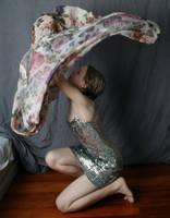 Silver Dress 1 by AttempteStock