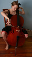 Cello 4 - playing by AttempteStock