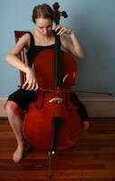 Cello 5 - playing by AttempteStock