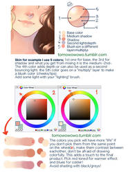 + Coloring Skin Tutorial + by Bunny-Boss